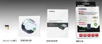 Edimax EW-7811UN Mini wireless USB adapter